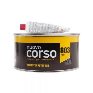Nuovo Corso 803 Alu Titan полиэфирная шпатлевка 2К